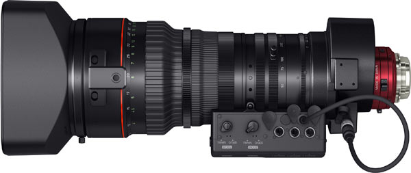 Canon CINE-SERVO 50-1000mm T5.0-8.9 Ultra-Telephoto Zoom Lens, bottom