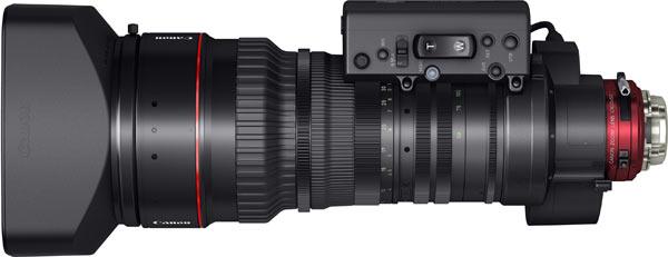 Canon CINE-SERVO 50-1000mm T5.0-8.9 Ultra-Telephoto Zoom Lens, top