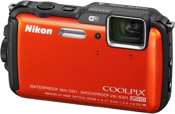 Nikon COOLPIX AW120, orange