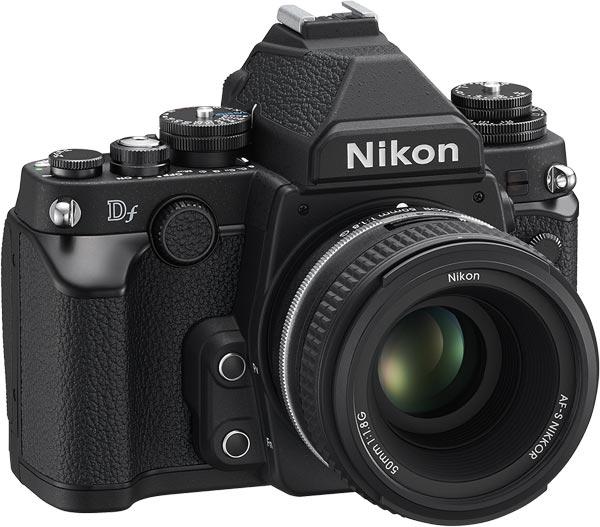 Nikon Df, black