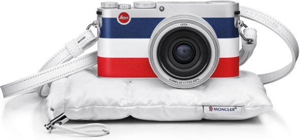 LEICA X 'Edition Moncler' Special Limited Edition camera with strap and case