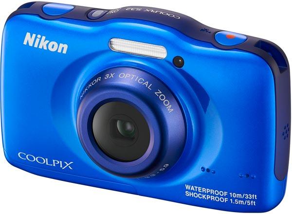 Nikon COOLPIX S32, blue