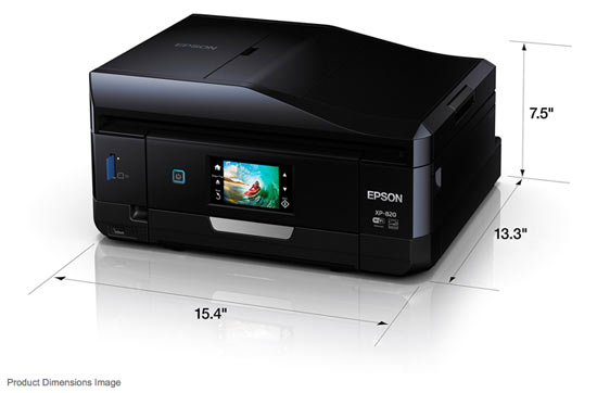 The Epson Expression Premium XP-820 Small-in-One® All-in-One Printer