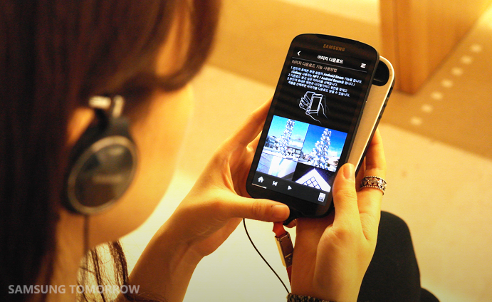 The Leeum, Samsung Museum of Art, uses NFC for its digital guides