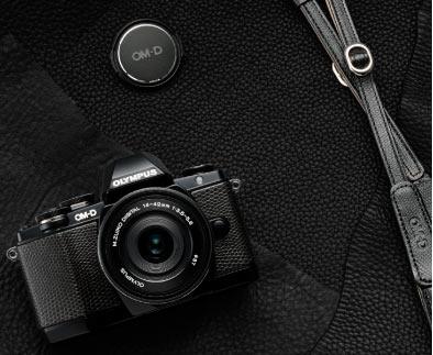 Olympus E-M10 Premium Kit, black