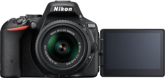Nikon D5500 + 18-55mm D-SLR kit