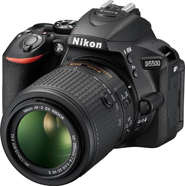 Nikon D5500 HD-SLR