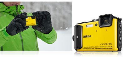 COOLPIX AW130, yellow