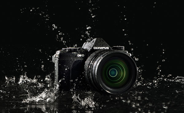 Olympus OM-D E-M5 Mark II: splashproof