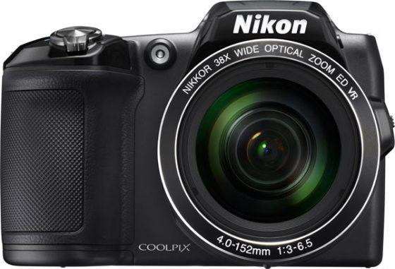 Nikon COOLPIX L840, black, with 38x optical zoom NIKKOR ED glass lens