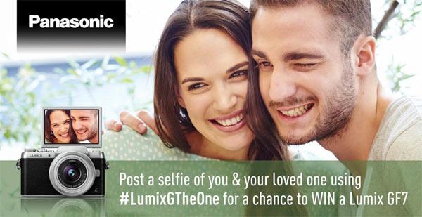 Panasonic UK: 'Lumix GF7 #LumixGTheOne Selfie' Competition