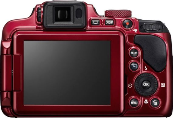 COOLPIX P610, red