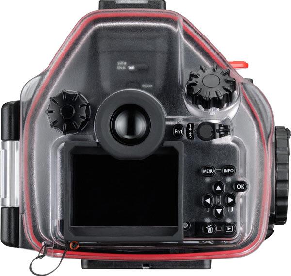 Olympus OM-D E-M5 Mark II, black, with PT-EP13 Dedicated Underwater Case