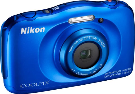 COOLPIX S33, blue