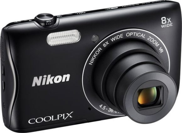 COOLPIX S3700, black