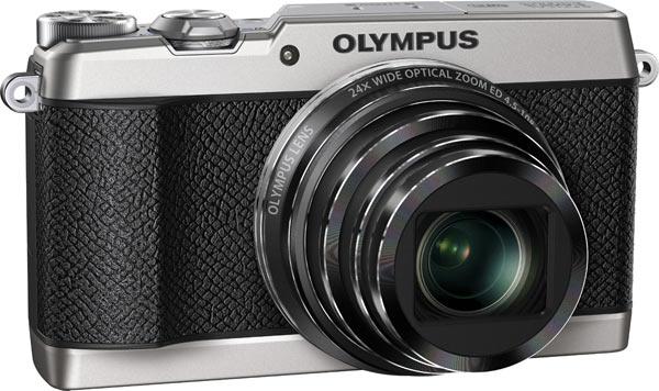 Olympus Stylus SH-2, silver