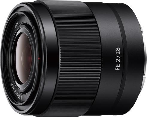 Sony FE 28mm F2 (model SEL28F20)