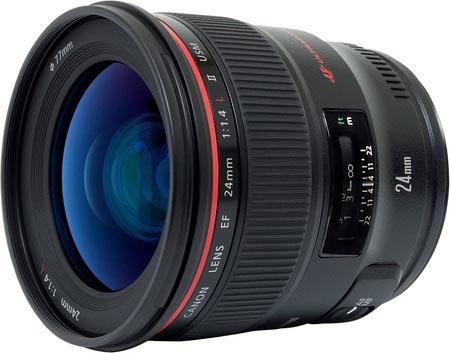 Canon EF 24mm 1.4L II USM lens