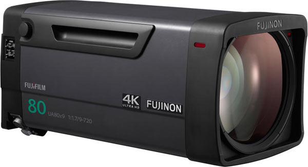 Fujinon UA80x9 4K field lens