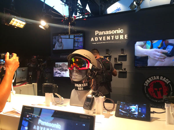 HX-A1, wearable POV Action-cam: Image by Panasonic
