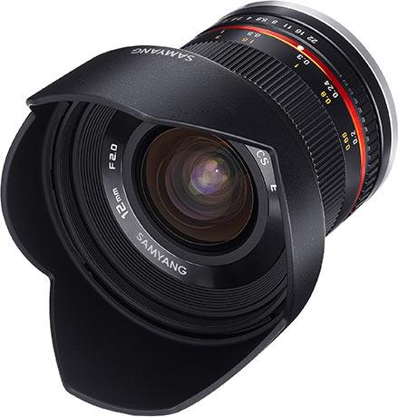 Samyang 12mm F2.0 NCS CS