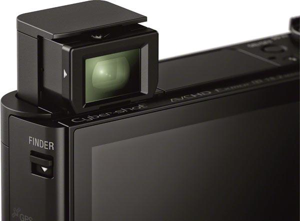 Sony HX90V: OLED Tru-Finder