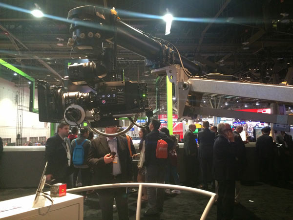 VARICAM 35 with extension unit for cinema production: Image by Panasonic