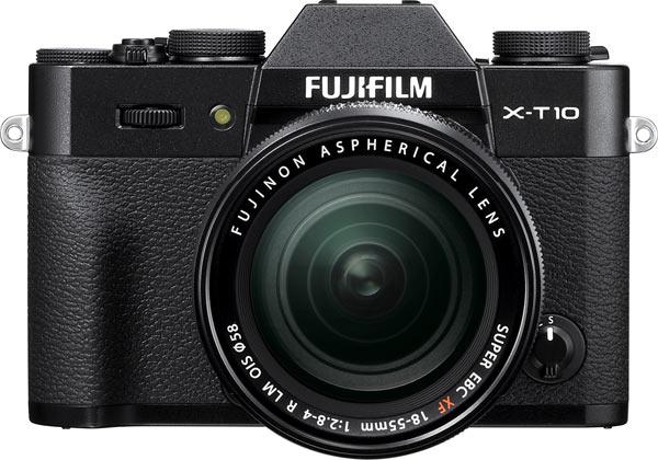 Fujifilm X-T10, black