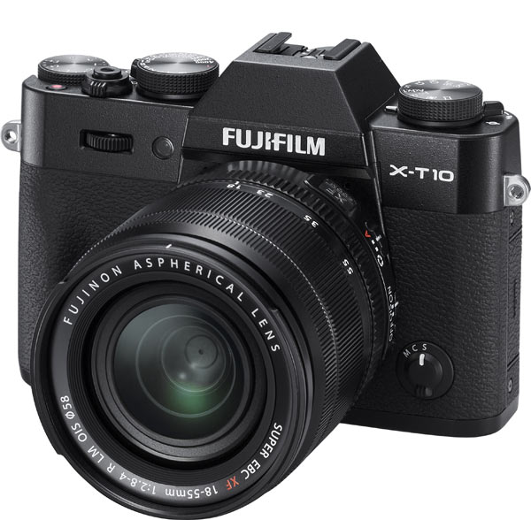 Fujifilm X-T10 also available in solid black