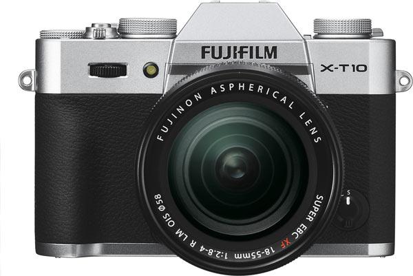 Fujifilm X-T10, silver