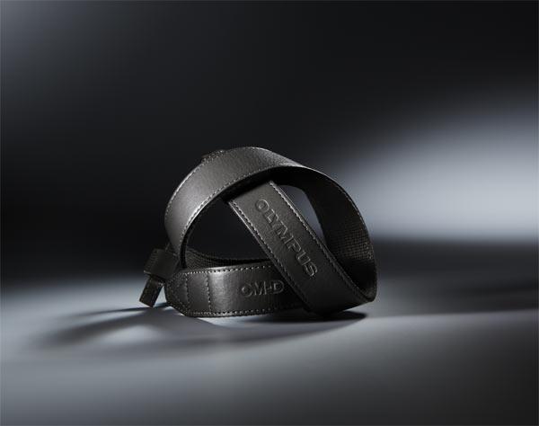 Olympus' premium leather strap