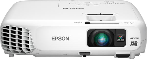 Epson PowerLite Home Cinema 730HD 720p 3LCD Projector