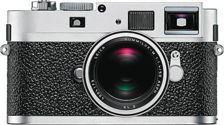 Leica M9-P, silver chrome
