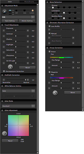 SIGMA Photo Pro 6.3: features