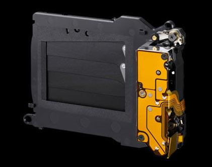 Sony α7R II: Reduced-vibration shutter