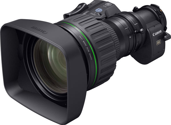 The 4K portable zoom lens currently under development