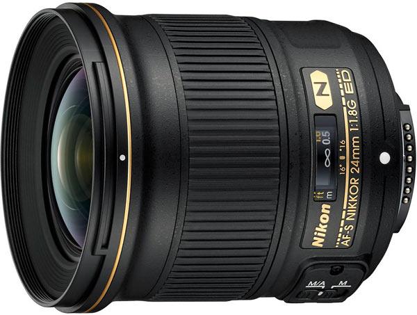 AF-S NIKKOR 24mm f/1.8G ED: Fast-aperture prime