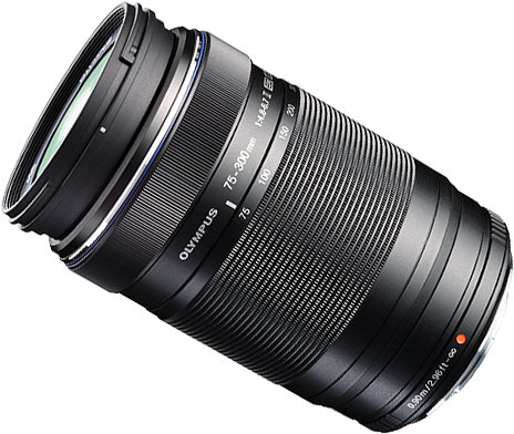 M.ZUIKO DIGITAL ED 75‑300mm 1:4.8‑6.7 II Lens (black)