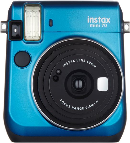 Fujifilm INSTAX Mini 70: Island Blue color