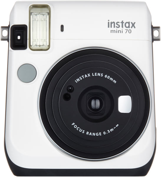 Fujifilm INSTAX Mini 70: Moon White color