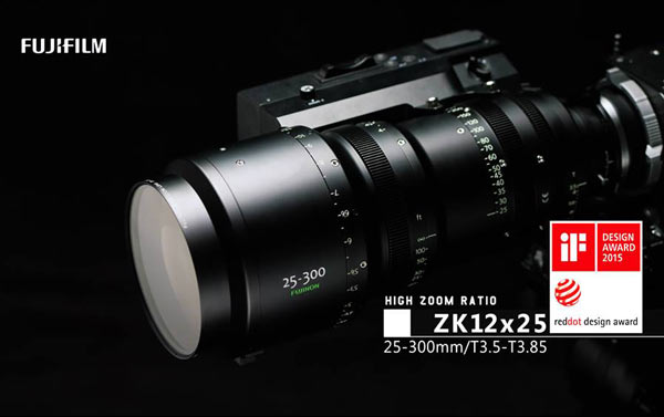 Fujinon 25-300mm Cabrio / T3.5-3.85 (ZK12x25) PL mount cine