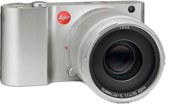Leica T camera (updated via Firmware Version 1.4) with new Leica Summilux-TL 35 mm f/1.4 ASPH. lens (silver)