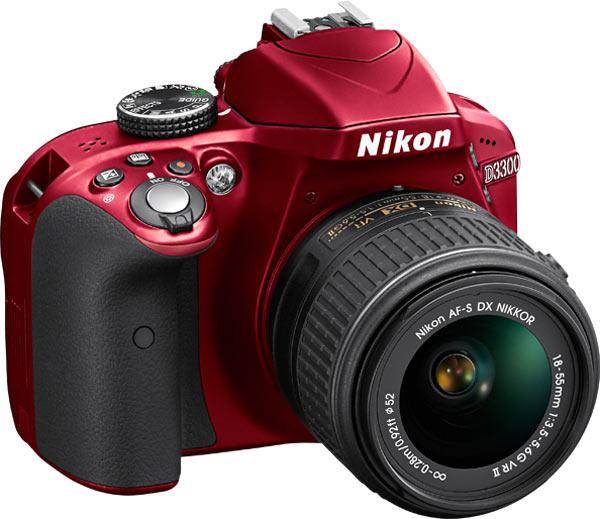 Nikon D3300, red
