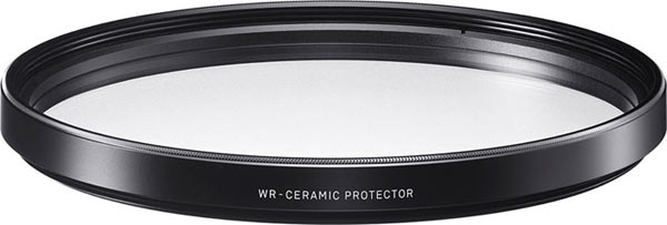 SIGMA offers world's first* Clear Glass Ceramic protective lens filters: SIGMA WR CERAMIC PROTECTOR 67mm~105mm
