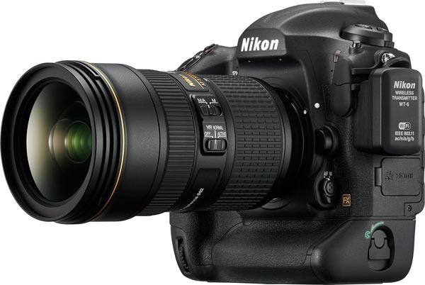 Nikon with WT-6A (WT-6) Wireless Transmitter