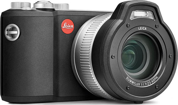 Leica X-U (Typ 113): Anti-slip rubber exterior for secure grip and easy handling