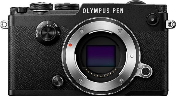Olympus PEN-F, black