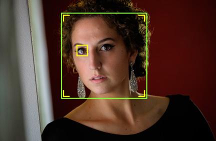 Fujifilm X-E2 Firmware Ver.4.00: Fujifilm's Eye Detection AF. Image Courtesy of Fujifilm