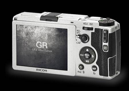 Ricoh GR II Silver Edition's original termination screen