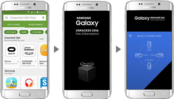 """Watching """"Galaxy Unpacked"""" on Mobile"""